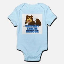 Support Sheltie Rescue Infant Bodysuit