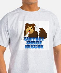 Support Sheltie Rescue T-Shirt