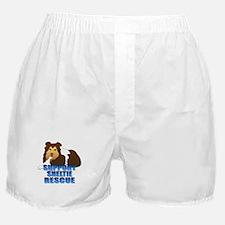 Support Sheltie Rescue Boxer Shorts