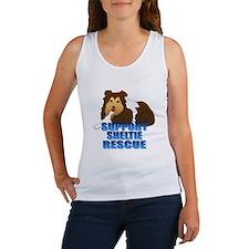 Support Sheltie Rescue Women's Tank Top