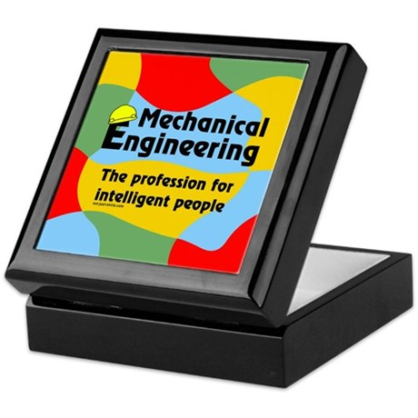 Smart Mechanical Engineer Keepsake Box