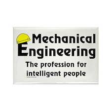 Smart Mechanical Engineer Rectangle Magnet