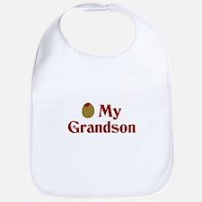 Olive (I Love) My Grandson Bib