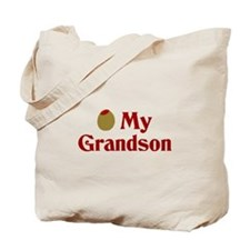 Olive (I Love) My Grandson Tote Bag