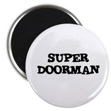 """SUPER DOORMAN 2.25"""" Magnet (10 pack)"""