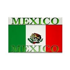 Mexico Mexican Flag Rectangle Magnet
