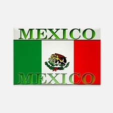 Mexico Mexican Flag Rectangle Magnet