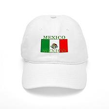 Mexico Mexican Flag Baseball Cap