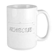 architecture-black Mugs