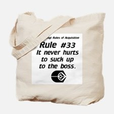 It never hurts...Light Tote Bag