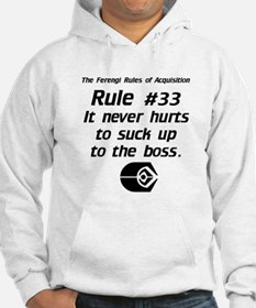 It never hurts...Light Hoodie