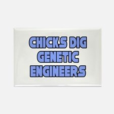 """Sexy Genetic Engineer"" Rectangle Magnet"