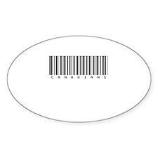 Canadians Oval Sticker (10 pk)