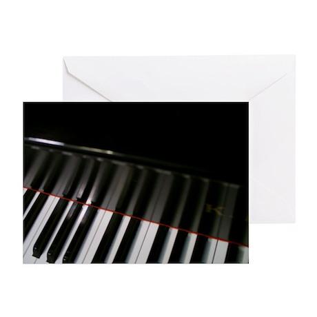 Piano Keyboard Greeting Cards (Pk of 20)