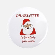 "Charlotte Christmas 3.5"" Button"