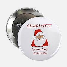 "Charlotte Christmas 2.25"" Button"