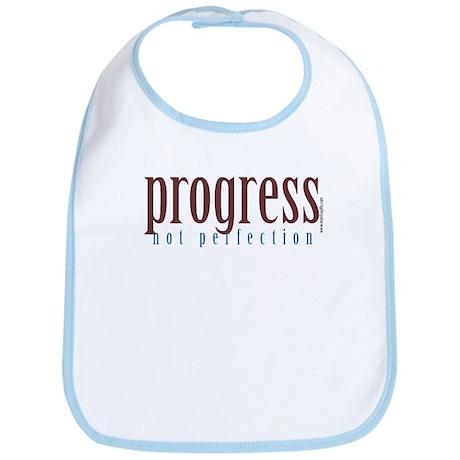 Progress, not perfection Bib