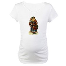 Vintage Santa with violin Shirt