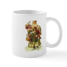 Vintage Santa with Doll Mug