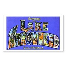 Lake Arrowhead California Greetings Decal