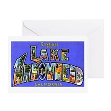 Lake Arrowhead California Greetings Greeting Card