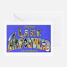Lake Arrowhead California Greetings Greeting Card