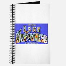 Lake Arrowhead California Greetings Journal