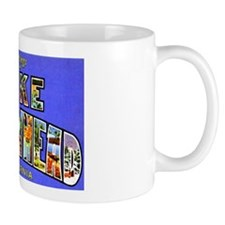 Lake Arrowhead California Greetings Mug