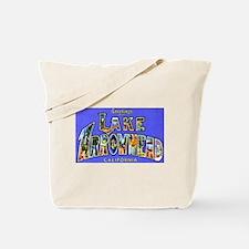 Lake Arrowhead California Greetings Tote Bag