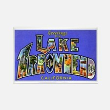 Lake Arrowhead California Greetings Rectangle Magn