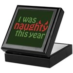I Was Naughty This Year Keepsake Box