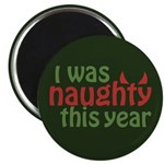 I Was Naughty This Year Magnet
