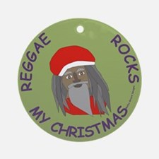 Reggae Rocks My Christmas /Ornament (Round)