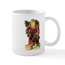 Vintage Santa with Bell Mug