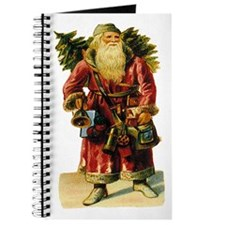 Vintage Santa with Bell Journal