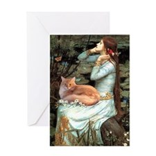 Ophelia's Maine Coon (#11) Greeting Card
