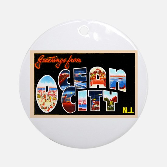 new jersey christmas ornament