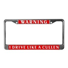 Twilight License Plate Frame