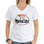 Manhattan Women's V-Neck T-Shirt