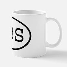 UBS Oval Mug