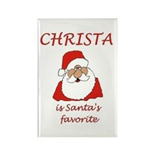 Christa Christmas Rectangle Magnet