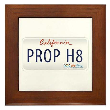 California GayRites Framed Tile