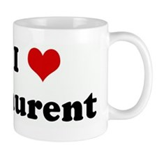 I Love Laurent Mug