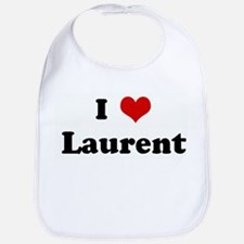 I Love Laurent Bib