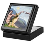 Creation / German Shepherd #2 Keepsake Box