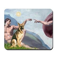 Creation / German Shepherd #2 Mousepad