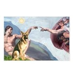 Creation / German Shepherd #2 Postcards (Package o