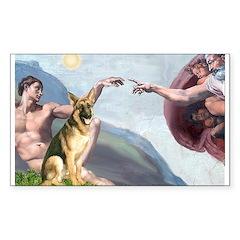 Creation / German Shepherd #2 Decal