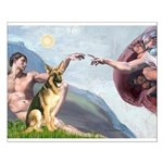 Creation / German Shepherd #2 Small Poster