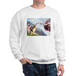 Creation / German Shepherd #2 Sweatshirt